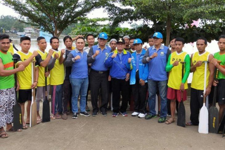Waka DPRD berharap lomba perahu di Danau Sipin mampu tarik wisatawan