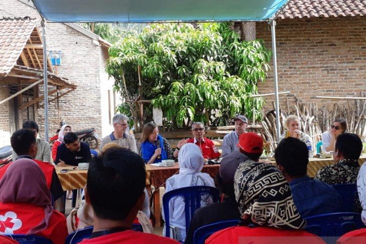 Amcross-MACP kunjungi lokasi program pengurangan risiko bencana di Lampung