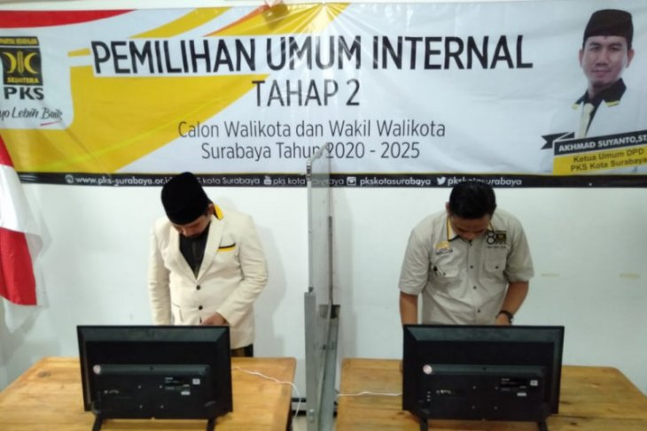 PKS gelar e-voting internal tahap dua Bacawali Surabaya