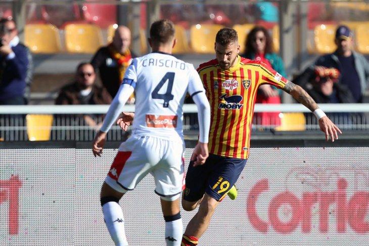 Liga Italia: Lecce bangkit dari tertinggal dua gol untuk imbangi Genoa