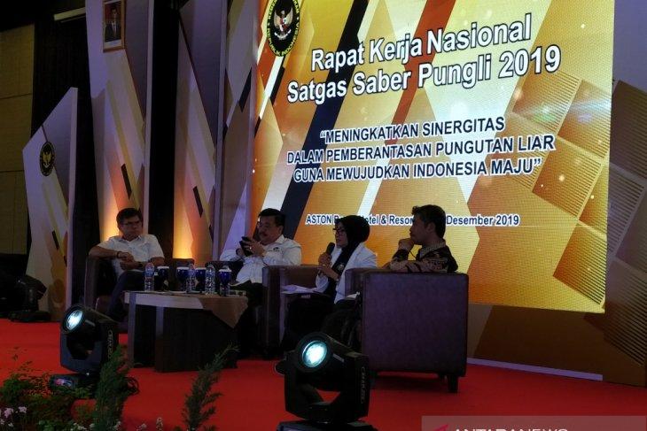 Satgas Saber Pungli telah terima 37.363 laporan sejak berdiri 2016