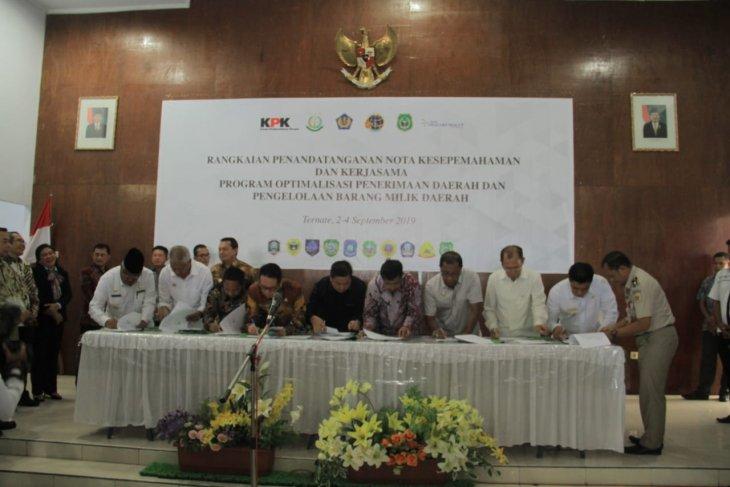 Pemkab Pultab dan KPK berkomitmen laksanakan rencana program cegah korupsi