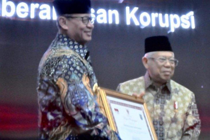 Prov Banten raih penghargaan capaian implementasi pencegahan korupsi
