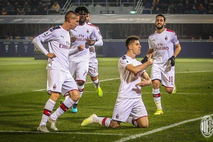 Lanjutkan tren kemenangan, AC Milan kalahkan Bologna 3-2