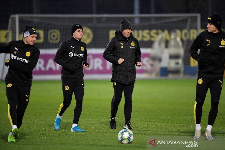 Liga Champions, Dortmund fokus kalahkan Slavia ketimbang pikirkan Inter vs Barcelona