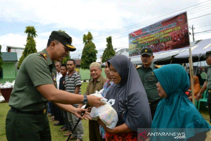 Memperingati Hari Juang TNI AD, Kodim 0212 gelar bakti sosial