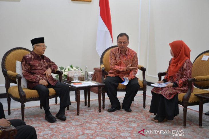 VP receives two concepts of sharia-compliant economy