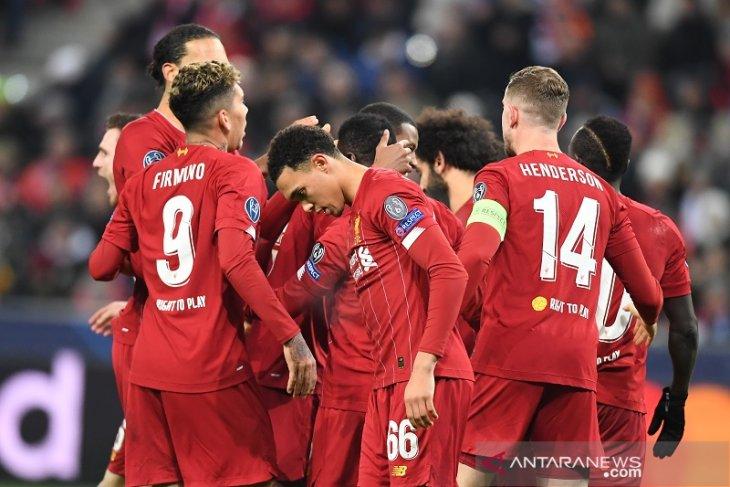 Liga Champions: Liverpool dan Napoli lolos, Salzburg turun kasta