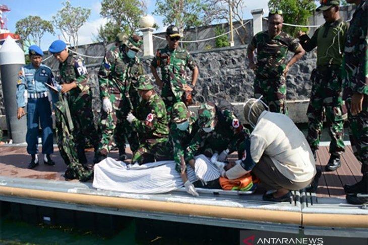 Pangkalan TNI AL Denpasar simulasikan teror bom
