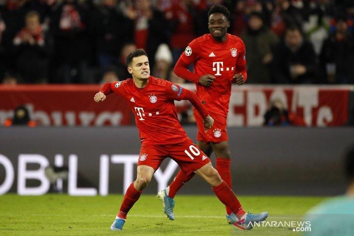 Liga Champions, tanpa Lewandowski, Bayern tundukkan Tottenham 3-1