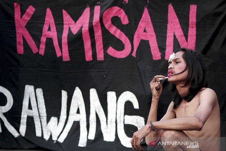 Aksi kamisan di Karawang