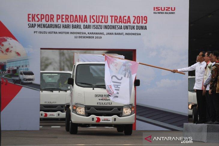 Ekspor perdana Isuzu Traga ke Filipina