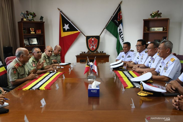 TNI AL kunjungi kementerian pertahanan Timor Leste