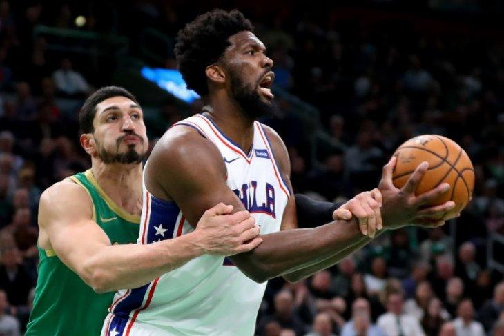 Philadelphia 76ers hentikan catatan sempurna Celtics di kandang