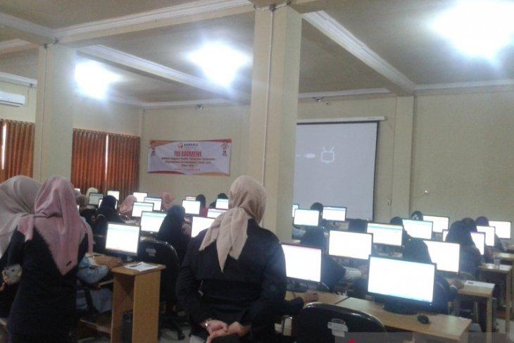 183 peserta ikuti tes sukratif online Panwaslucam2019
