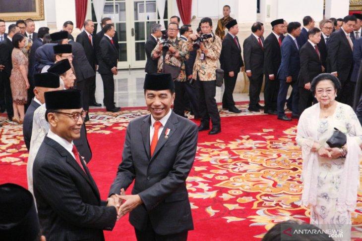Wiranto jabat Ketua Wantimpres 2019-2024
