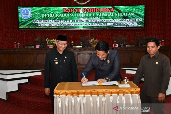 DPRD HSS setujui penyediaan dana cadangan Pilkada 2023