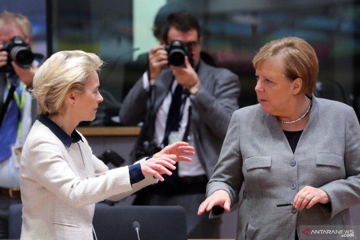 Saya gunakan semua kekuatan untuk lawan perubahan iklim: Merkel
