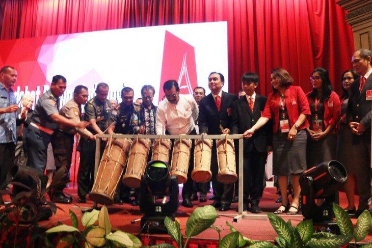 Melalui rakernas PSBI, lagu O..Tano Batak berkumbandang di tanah Melayu Kepri