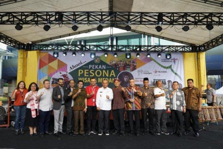Telkomsel-Pemkot Medan gelar Pekan Pesona Wisata Medan