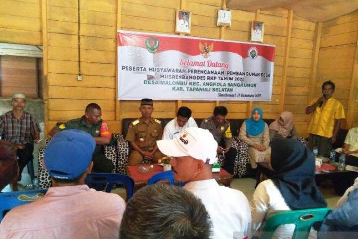2020, Desa Malombu prioritaskan Gedung Serbaguna