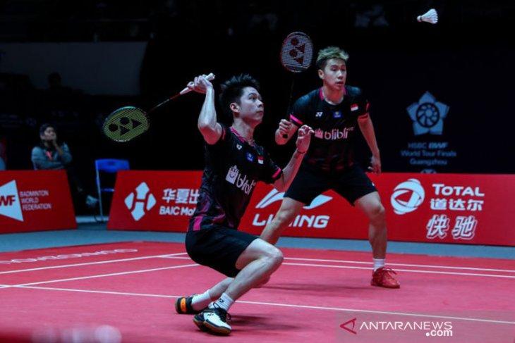 Minions terhenti di semifinal ditundukkan Endo/Watanabe