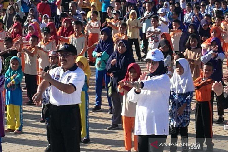 Ribuan peserta ramaikan puncak Festival SKJ Kemenpora di Wakatobi