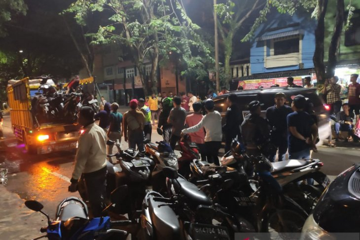 Polisi amankan 17 remaja dan 40 unit kendaraan geng motor