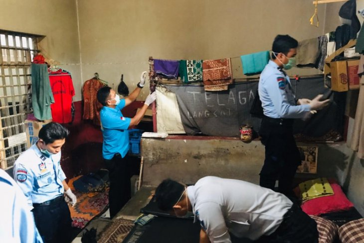 Petugas Lapas Tabalong lakukan penggeledahan narkoba