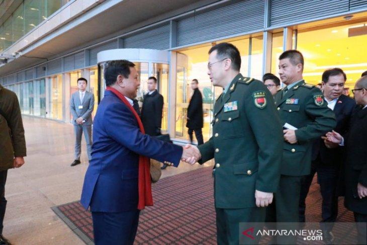 Menhan Prabowo lawatan ke Beijing