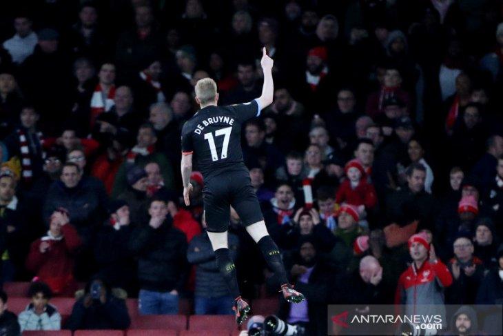 Manchester City kalahkan Arsenal di Emirates