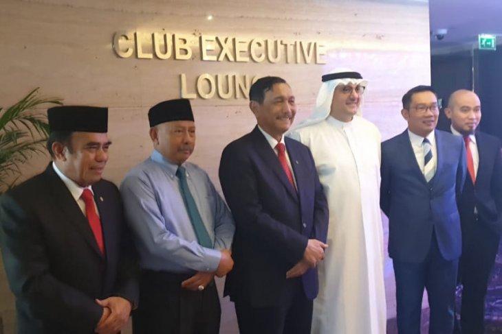 Ridwan Kamil dampingi Luhut bahas realisasi investasi ke UAE