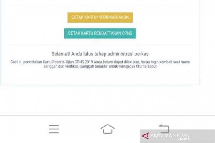 Aceh jaya umumkan hasil seleksi administrasi CPNS