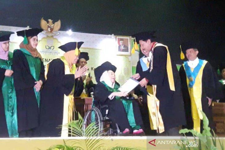 Shinta Nuriyah raih gelar doktor kehormatan dari UIN Sunan Kalijaga