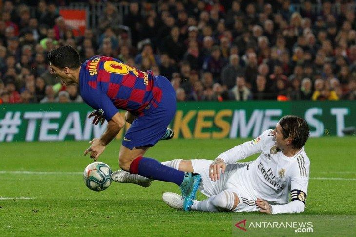 Real Madrid agresif tapi El Clasico berakhir seri