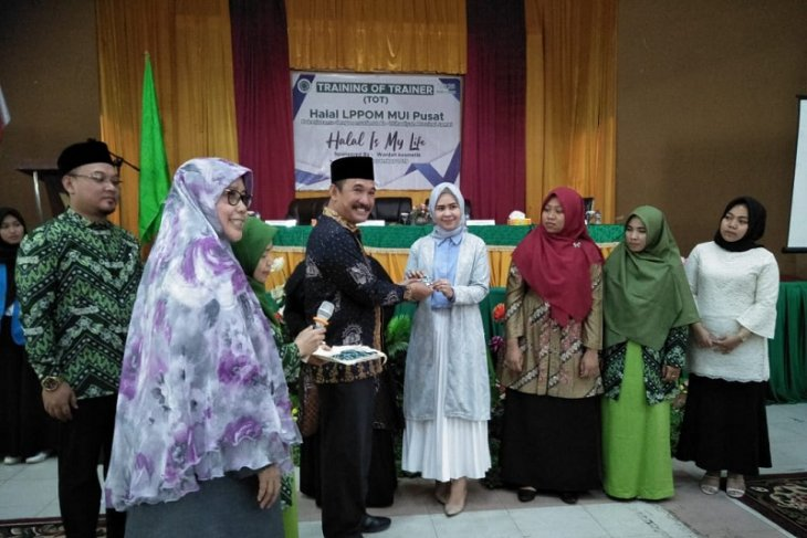 LPPOM MUI Jambi gelar pelatihan produk halal