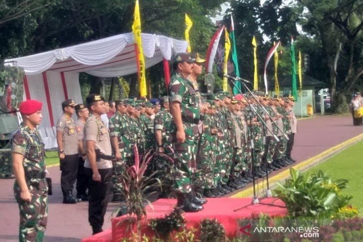 Panglima TNI pimpin Apel Gelar Pasukan Operasi Lilin Toba 2019