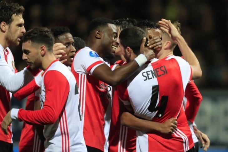 Feyenoord dan Utrecht lengkapi peserta 16 besar Piala Belanda