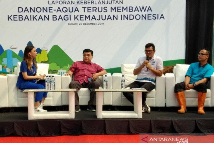 Danone-Aqua turut berkontribusi kurangi sampah plastik dengan daur ulang