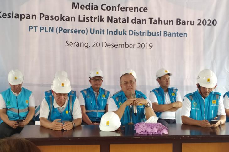 PLN Banten optimalkan pasokan listrik hadapi Natal dan Tahun Baru,