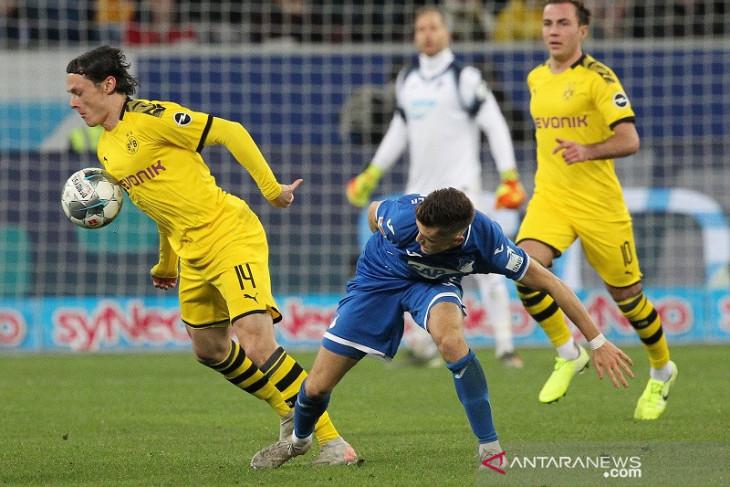 Sempat unggul, Dortmund malah tersungkur di markas Hoffenheim