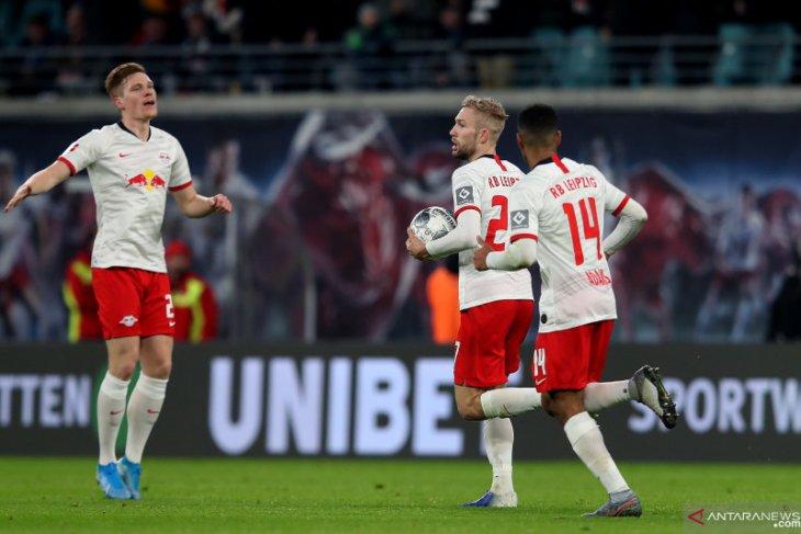 Liga Jerman, Leipzig masuki libur musim dingin sebagai pemuncak klasemen