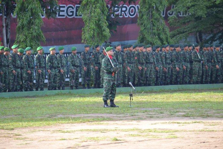 Ratusan personel TNI siap amankan Natal dan tahun baru di Jambi