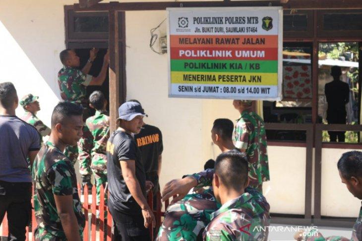 Kronologi insiden TNI vs Brimob hingga Pangdam dan Kapolda turun untuk menyelesaikan