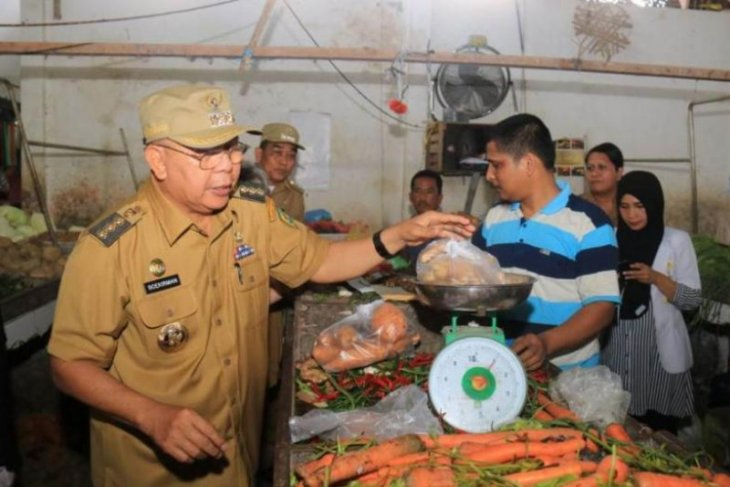 Pemkab Serdang Bedagai pantau harga bahan pokok di pasaran
