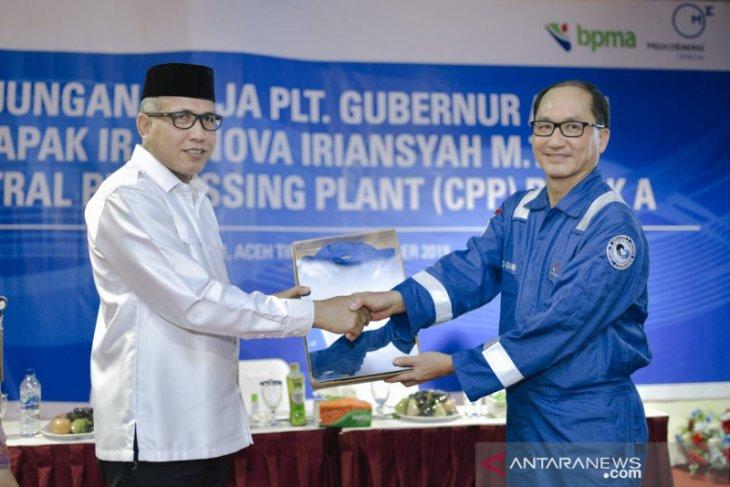 Plt Gubernur Aceh kunjungi CPP Medco E&P di Aceh Timur