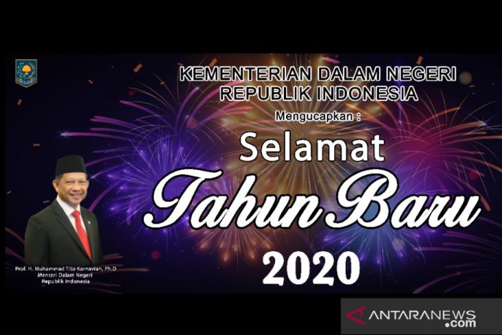 Mendagri Tito sampaikan arahan terkait perayaan Tahun Baru 2020