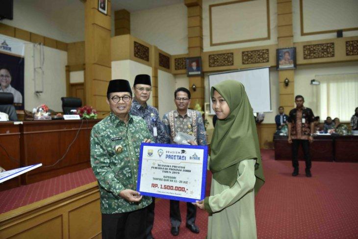 Pemprov Jambi berikan bantuan beasiswa Tahfidz Qur'an