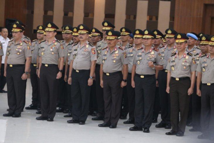 Kabareskrim Polri naik pangkat menjadi komisaris jenderal
