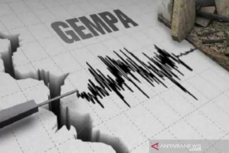 BreakingNews - Gempa magnitudo 6,6 di Sulut terasa hingga Gorontalo Utara